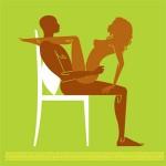 """Vũ điệu """"yêu"""" trên ghế cho sáng ngày thứ 7 ngọt ngào"""
