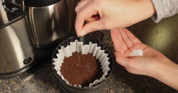 Cà phê pha muối đối với người xuất tinh sớm